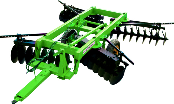 X Type Foldable Tandem Goble Disc Harrow